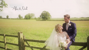A wedding video at Notley Abbey in Oxfordshire