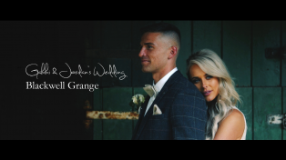 Blackwell Grange Wedding Video by Jumping Spider Films