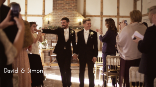 Wedding video filmed at Burley Manor in the New Forest, Ringwood, Hampshire