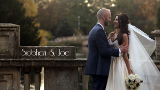 Pittville Park Cheltenham Wedding video, Siobhan and Joel