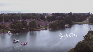 Hampshire wedding video, Hayling Island