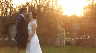Jess and Paul's wedding video, Great Tythe Barn, Cotswolds.