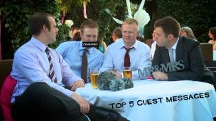 The Top 5 Wedding Video Guests Messages from 2012